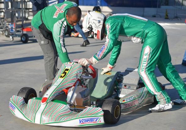 Sebastian Vettel testował w ostatnio na torze w Lonato dla zespołu Tony Kart, z którym jest związany jeszcze od czasów kariery kartingowej. Fot. Italo Benedetti.