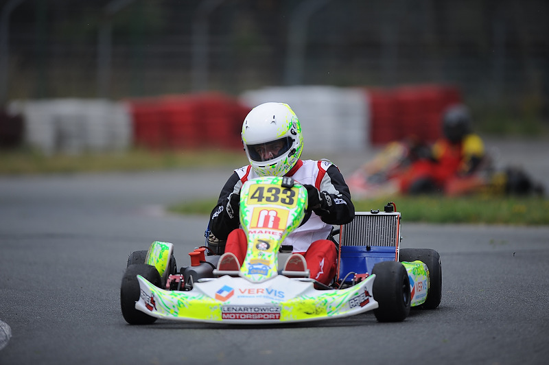Ariel Piotrowski z zespołu Lenartowicz Motorsport.