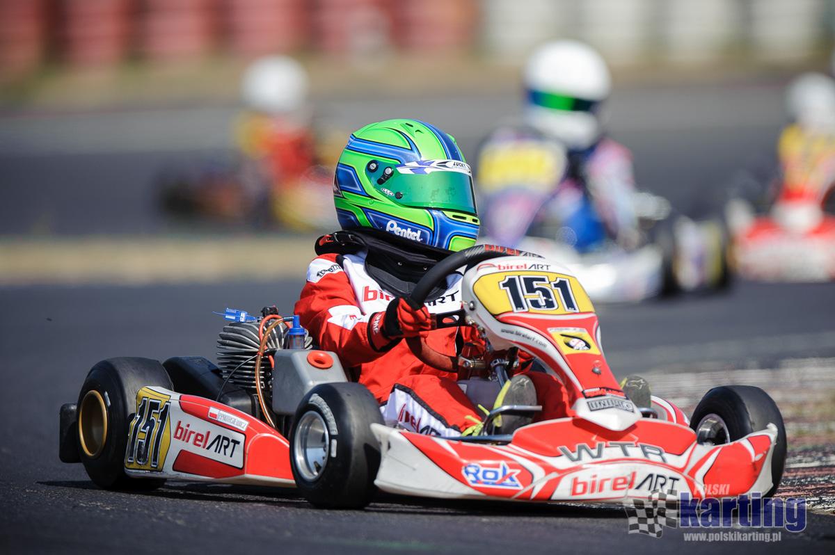 Kierowcy WTR, któremu będziemy bacznie się przyglądać w tym sezonie będzie Piotr Protasiewicz jr, dziś bez wątpienia jeden z liderów Mini Roka w Europie.