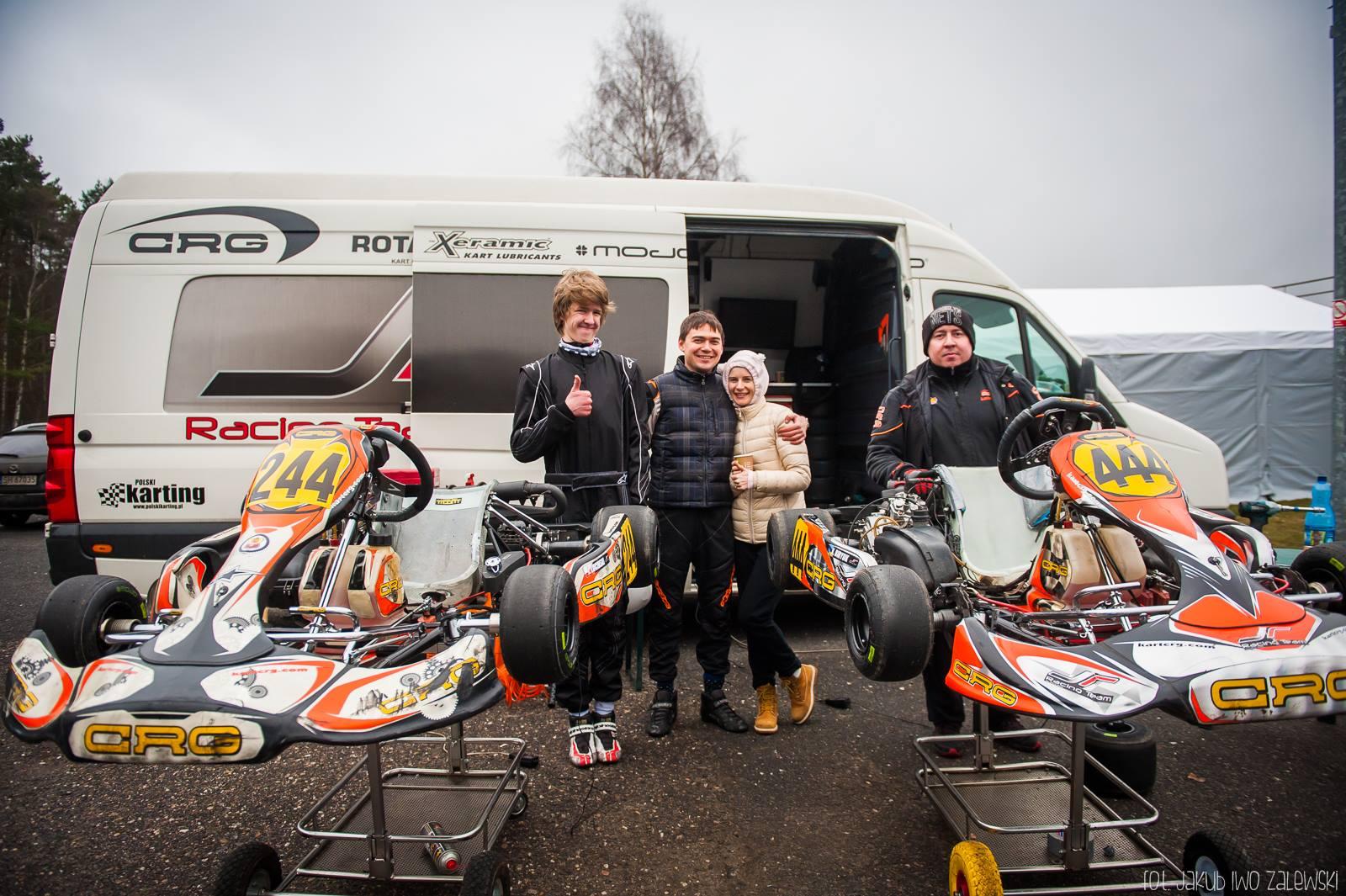 Drużyna JR Racing przygotowywała się niedawno w Starym Kisielinie.