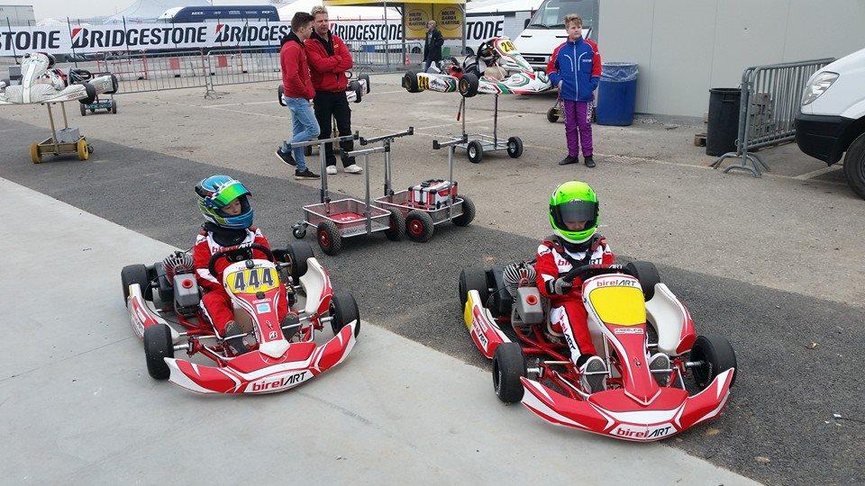 W barwach WTR BirelART w kategorii Mini wystartowało dwóch kierowców. Piotr Protasiewicz jr i Kamil Grabowski.