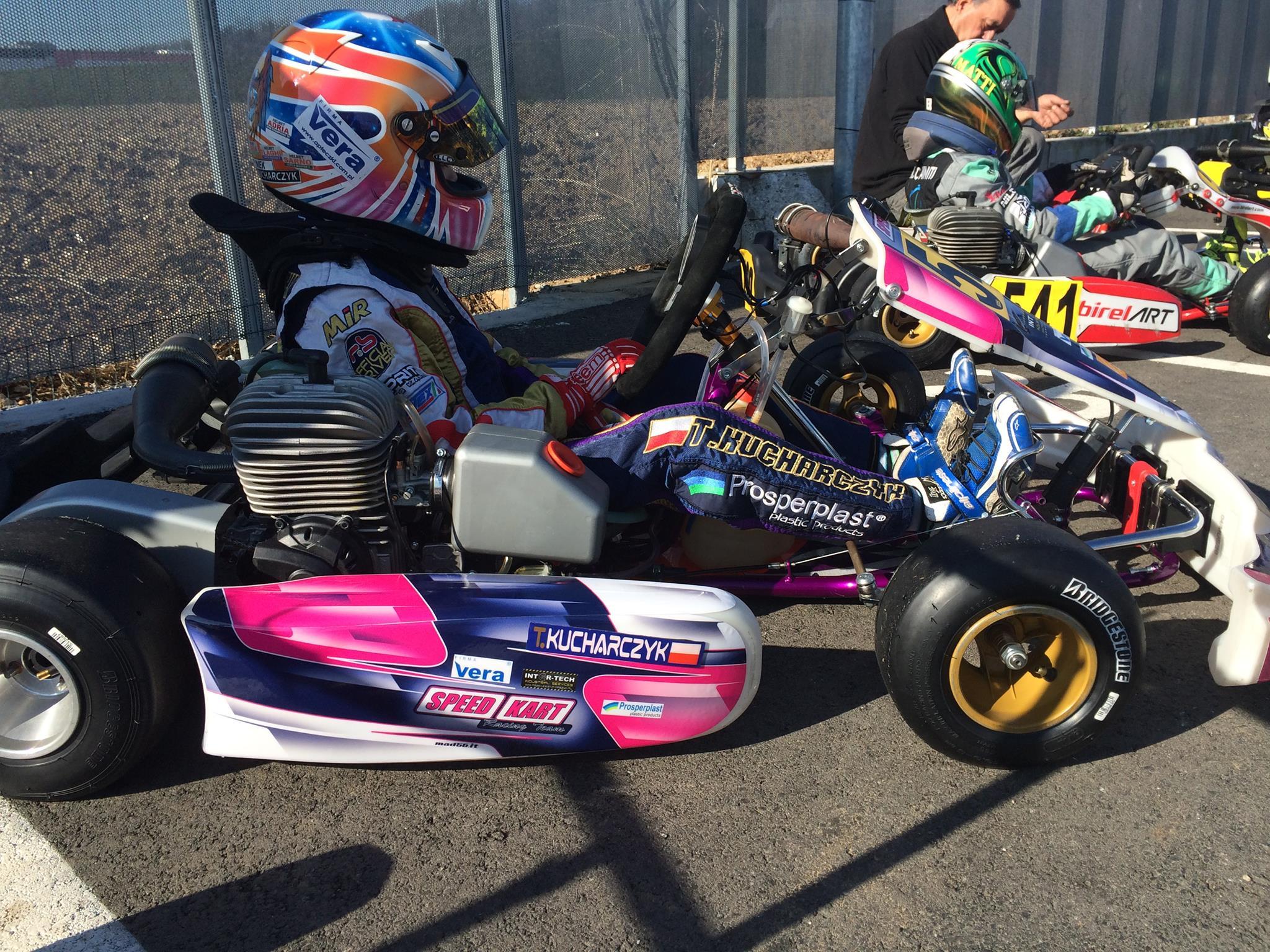 W barwach Speed Kart zadebiutował Tymoteusz Kucharczyk.