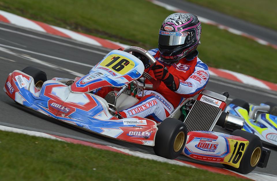 Scott Mackrell - Coles Racing - Little Rissington - @Kartpix.net
